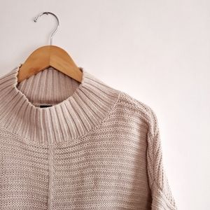 Topshop ribbed knit sweater